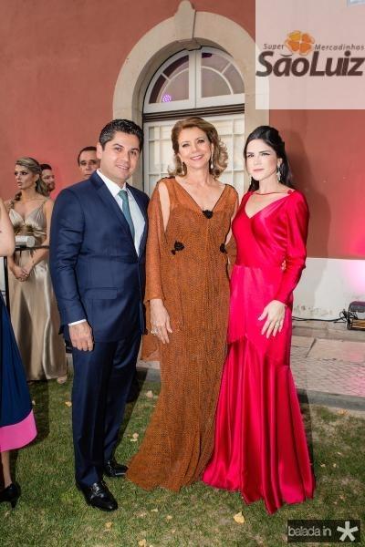 Pompeu Vasconcelos, Fatima Camara e Marilia Vasconcelos