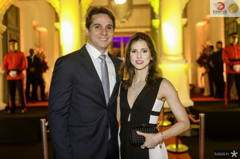 Benjamim e Carla Oliveira