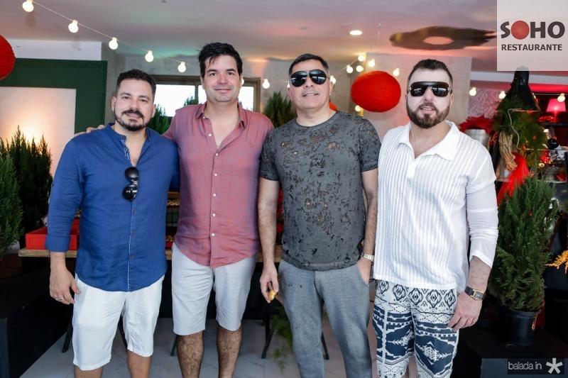 Miguel Dias, Andre Pires, Luciano Vidal e Cesar Martins