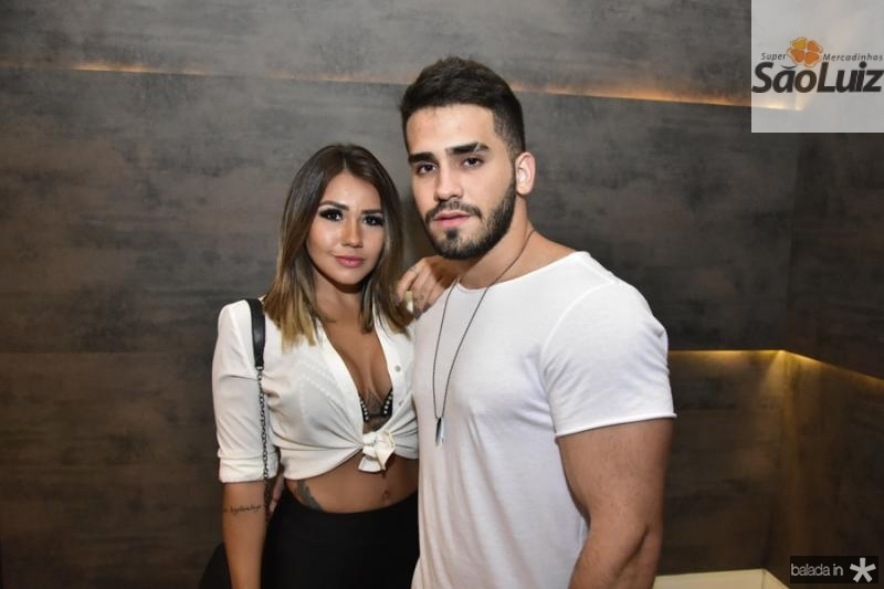 Natalia Chalma e Felipe Girao