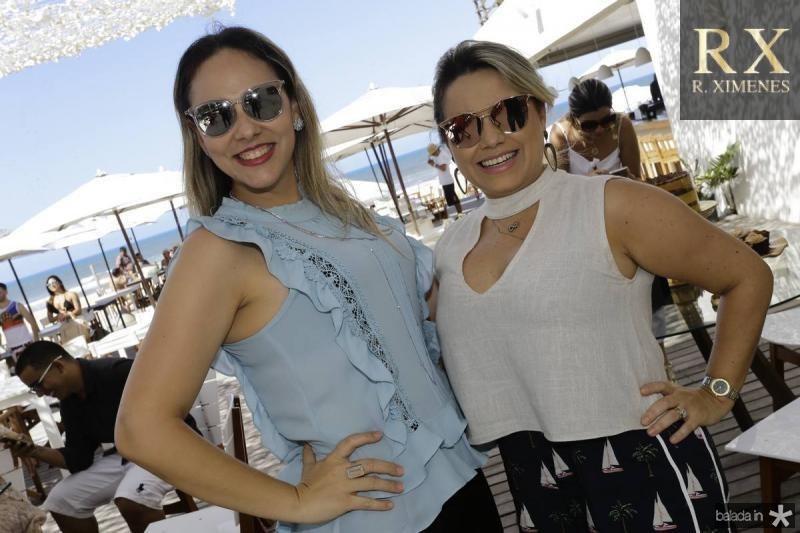 Giana Albuquerque e Alessandra Rosado