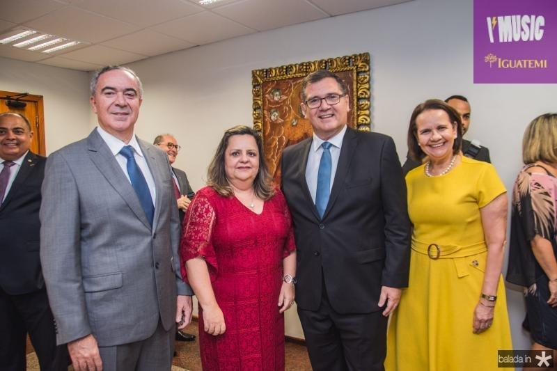 Luis Eduardo, Denise Olsen, Walter Correa Lima e Valeria Cavalcante