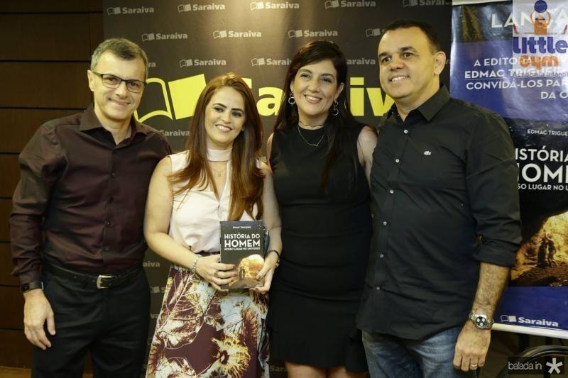Socorro Flavia Borges, George Pimenta, Lana Edmac Trigueiro
