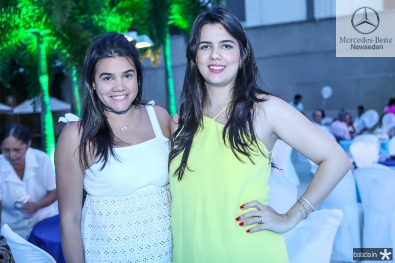 Priscila Leal e Priscila Fontenele