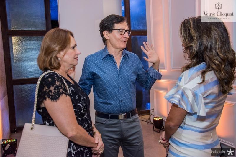 Veronica Perdigao, Helio Perdigao e Marcia Travessoni