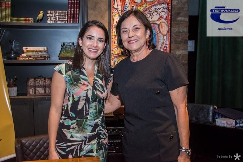 Lia Lima e Ana Studart