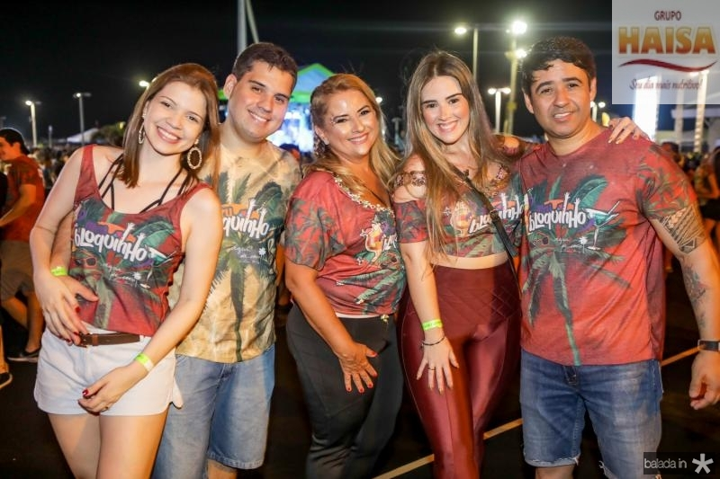 Rebeca e Paulo Alves, Beth e Roberta Pinto, Jailson Olivera