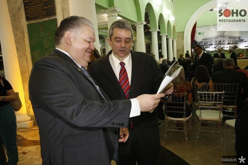 Pedro Jorge Medeiros e Joaquim Guedes Neto