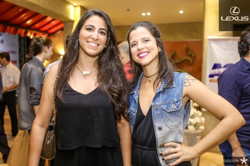 Marina Mapurunga e Priscila Mesquita