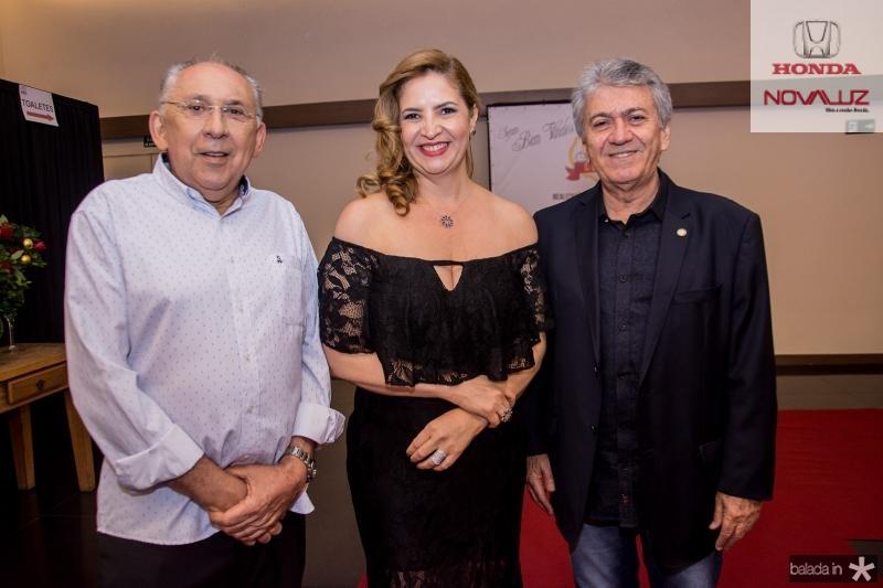Luis Carlos Correa, Enid Camara e Clovis Nogueira