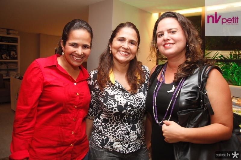 Viviane Maia,Regina Menescal e Tinally Carneiro