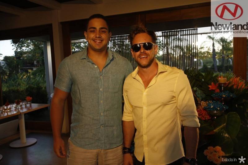 Rafael Pinto e Thiago Camargo