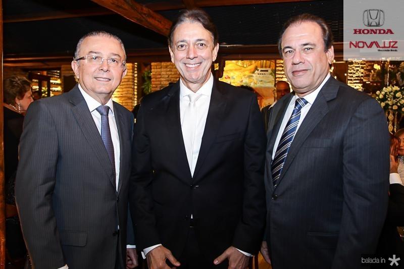 Antonio Jose Melo, Afranio Barreira e Claudio Brasil