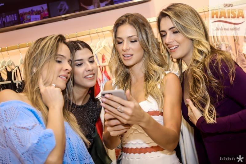 Ingrid Gurgel, Manoela Pimenta, Bruna Waleska e Melina Dias