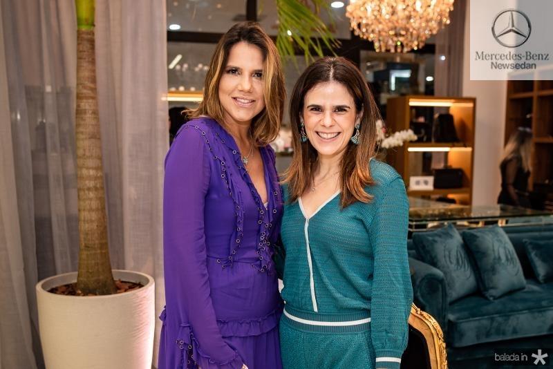 Ana Carolina Fontenele e Niedja Bezerra