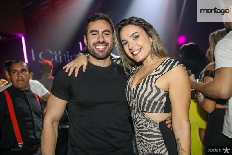 Pedro Tenente e Shaiene Carneiro
