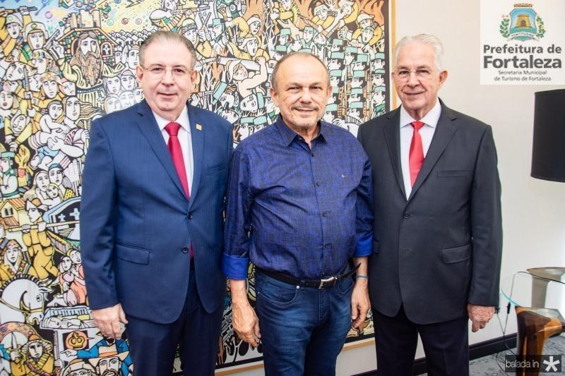 Ricardo Cavalcante, Honorio Pinheiro e Carlos Prado