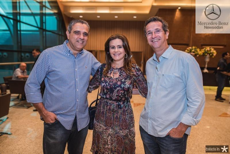 Andre Vercosa, Ivana Bezerra e Augusto Sousa