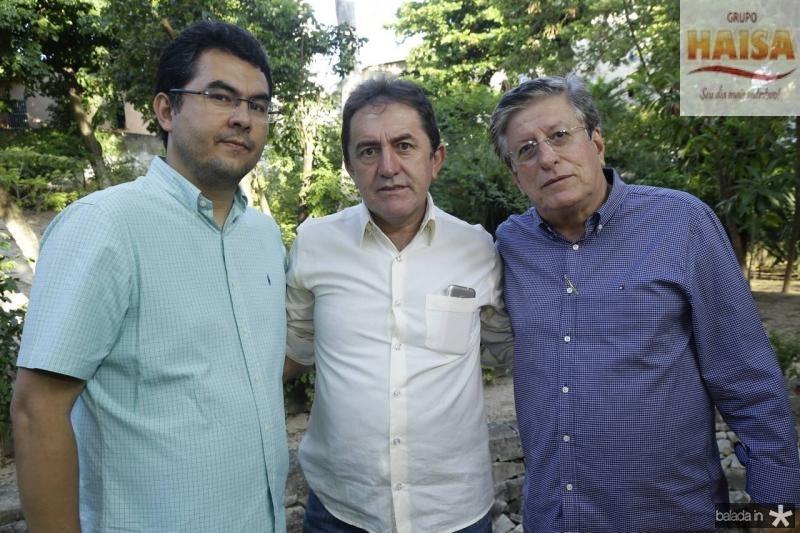 Iraguassu Teixeira, Adail Junior e Paulo Mindello