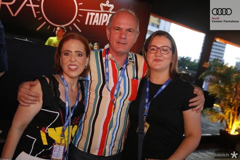 Rachel Mendonca, Joao Carlos e Rosna Diogenes