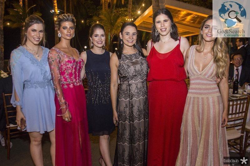Manoela Pinto, Graziele Albuquerque, Ligia Diogenes, Marcia Cabral, Larissa Fernandes e Livia Albuquerque