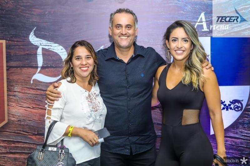 Marcia Feitosa, Paulo Henrique Donato e Karina Salgado