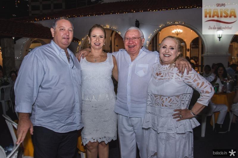Ricardo Aguiar, Ana Claudia Aguiar, Jose Augusto Ximenes e Regina Fiuza Ximenes