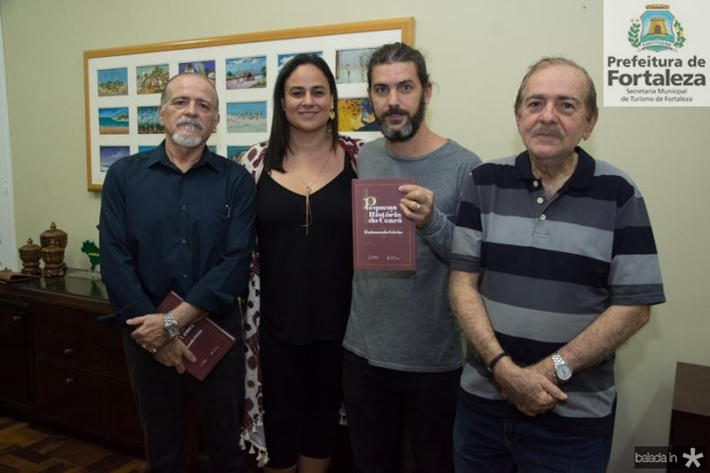 Reginaldo Vasconcelos, Alana Girao, Junior Soares e Paulo Chaves