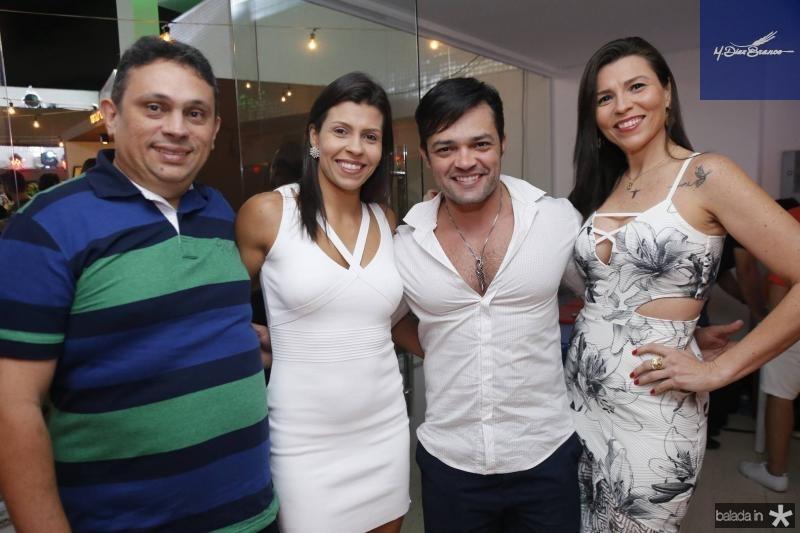 Joercio Almeida, Renata Nobre, Roger Trigueiro e Luciana Nobre
