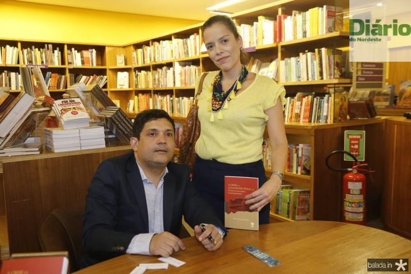 Bruno Queiroz e Camille Cavalcante