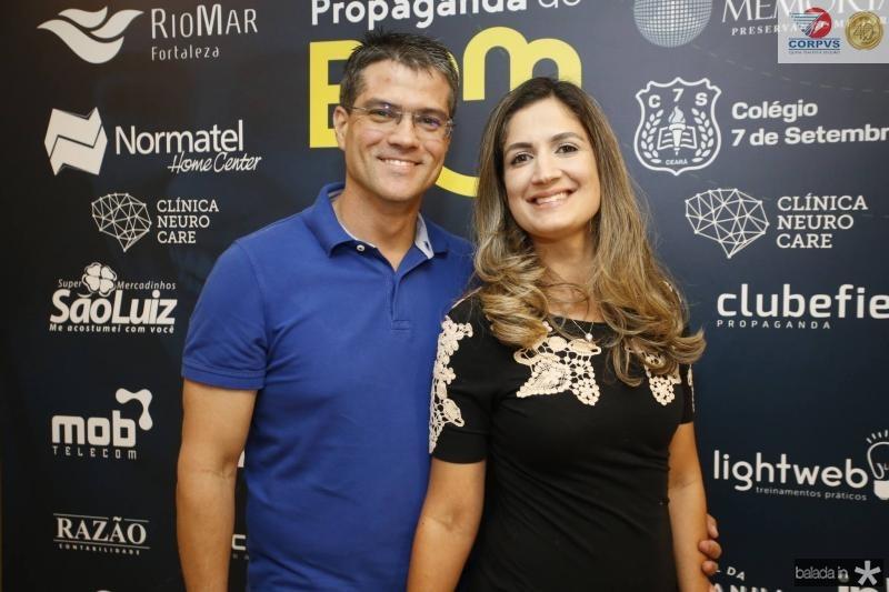 Rafael Campos e Clarissa Moura