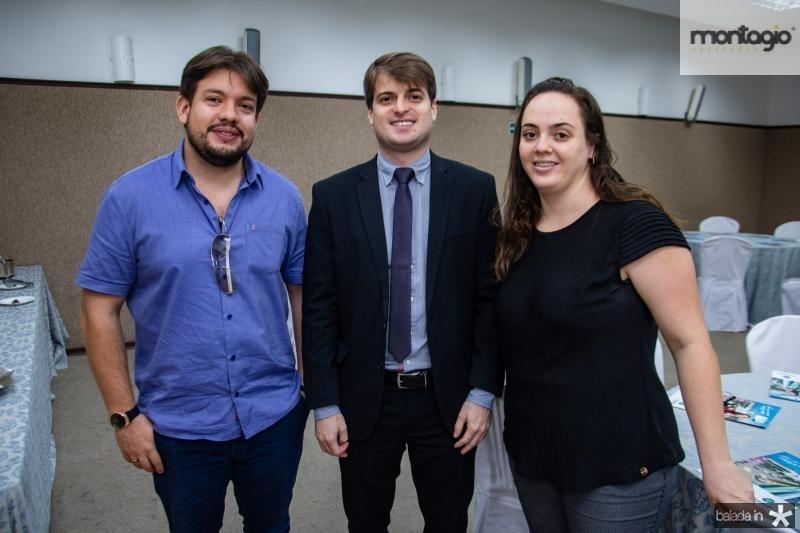 Victor Maia, Herisson Viana e Aniele Pison