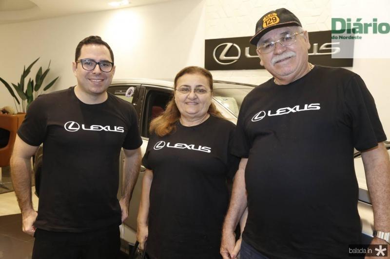 Rodrigo Martins, Izeuda e Luiz Gonzaga Pereira