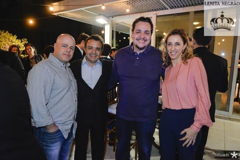 Estefano, Henrique Pereto, Alessandro e Lai?s Pereto