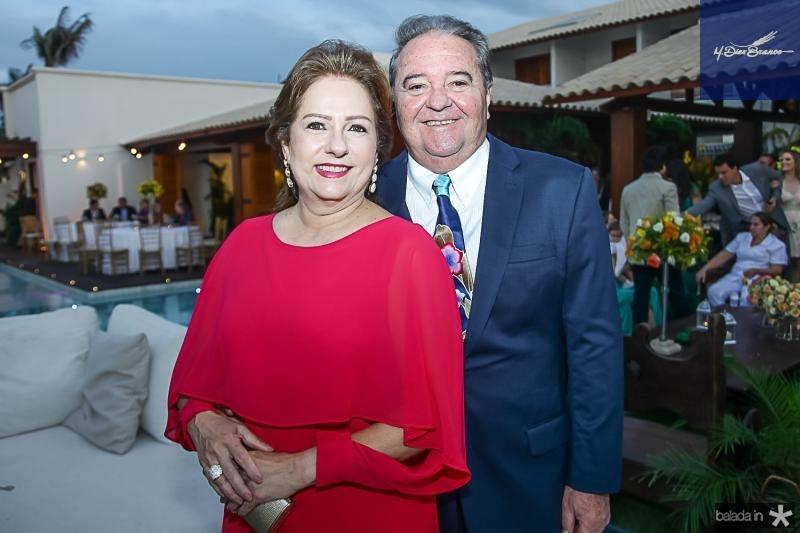 Cristina e Chiquinho Aragao