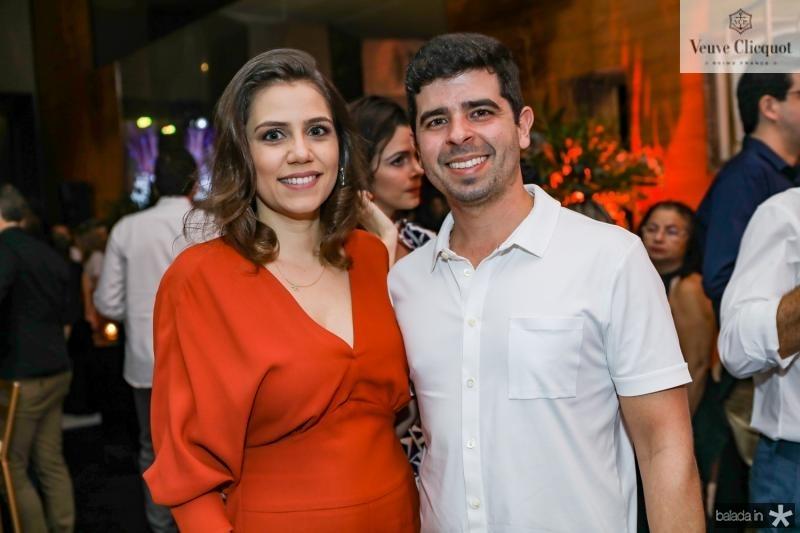Priscilla Ontonucci e Alexander Palacio