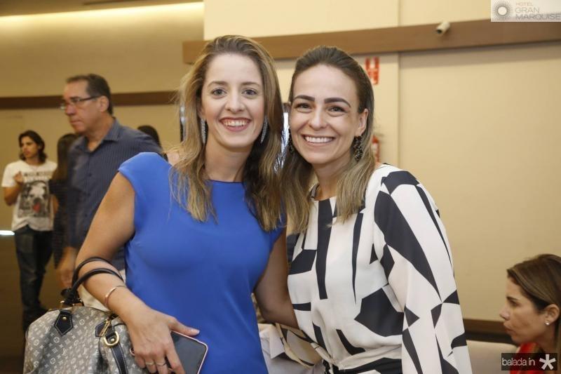 Livia Holanda e Leliane Vasconcelos