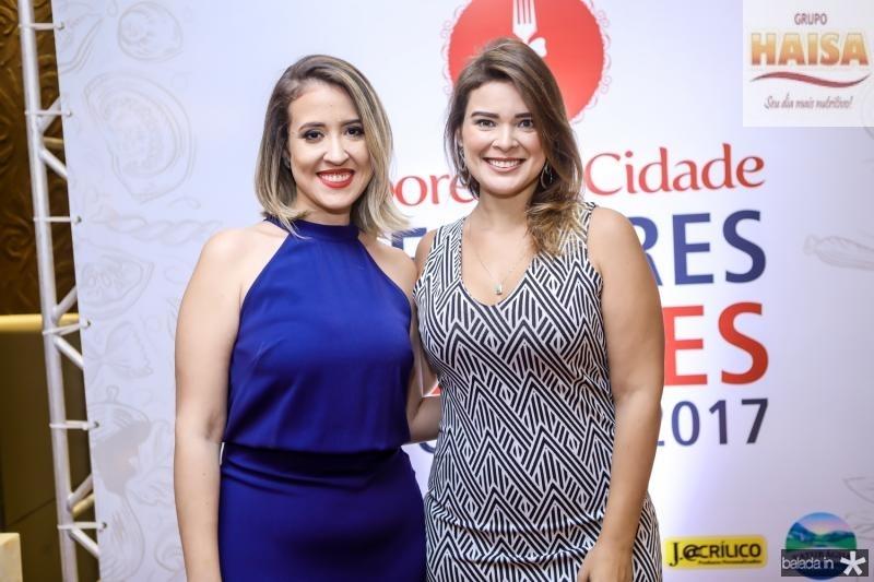 Izaqueline Ribeiro e Isabelle Lunguinho