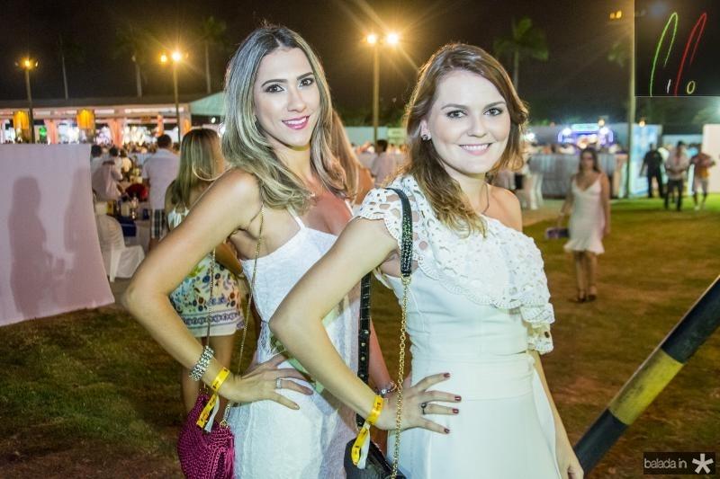 Gisele Azim e Bruna Rocha