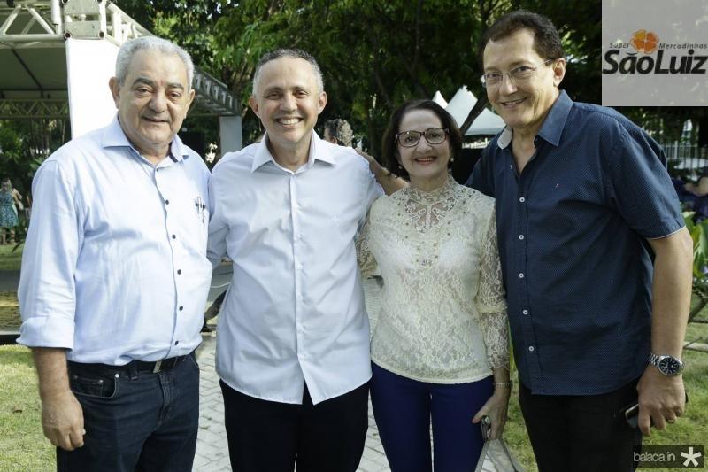 Adail Fontenele, Evaldo Lima, Tania Gurgel e Elpidio Nogueira