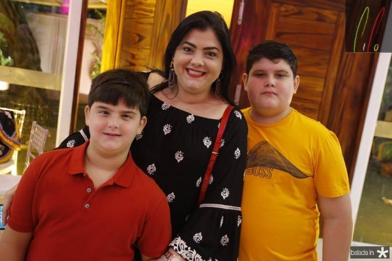 Ze Nilo, Viviane e Joao Marcelo Almada