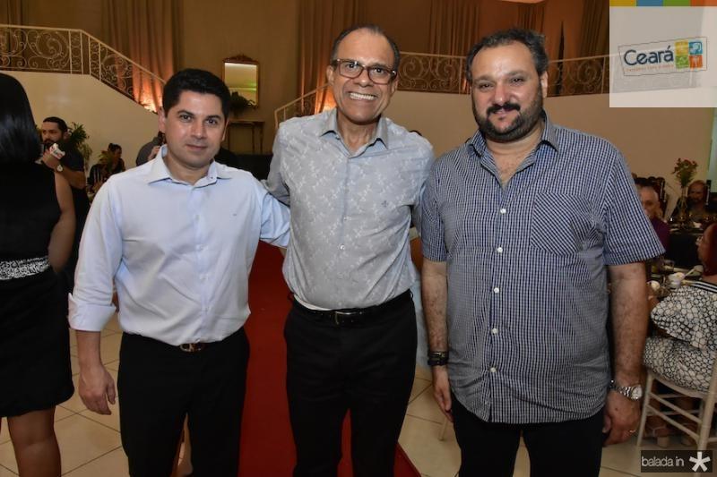 Pompeu Vasconcelos, Magno Muniz e Petrolino Dias