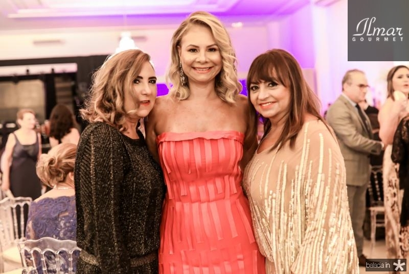 Joria Araripe, Milena Lima e Carmen Cinira
