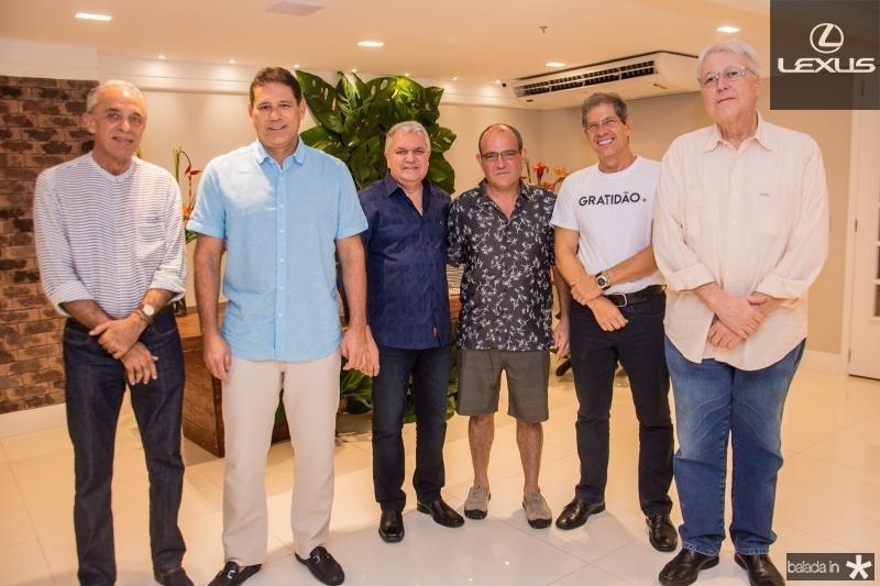 Claudio Montenegro, Marcus Medeiros, Ricardo Mendes, Rodrigo Sales, Severino Ramalho Neto e Abel de Castro