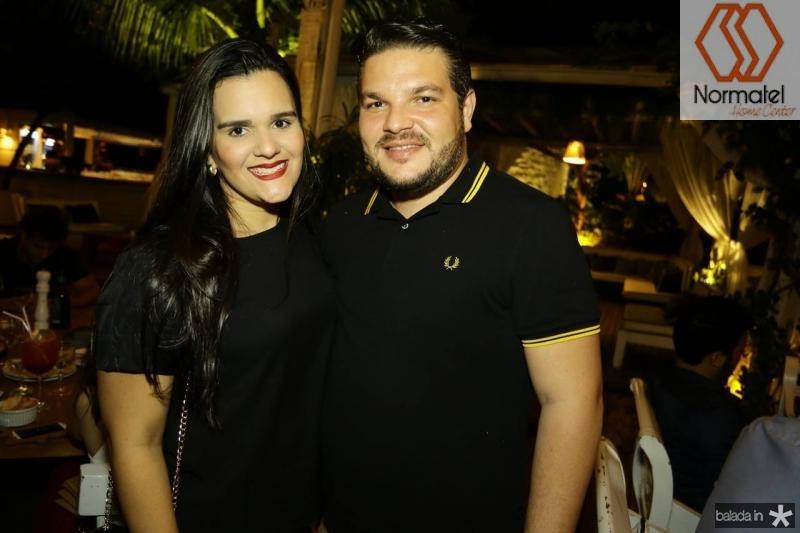 Roberta Feitosa e Rafael Alcantara