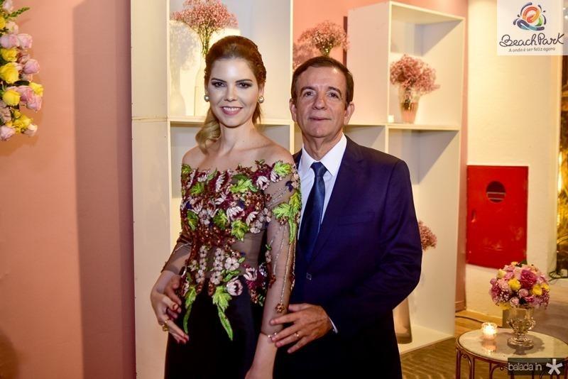 Malilia e Orlando Pontes Magalhaes