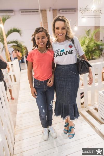 Raiane e Lilian Porto