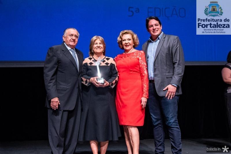 Joao Carlos Paes Mendonca, Lucia Bastos, Auxiliadora Paes Mendonca e Marcelo Filho