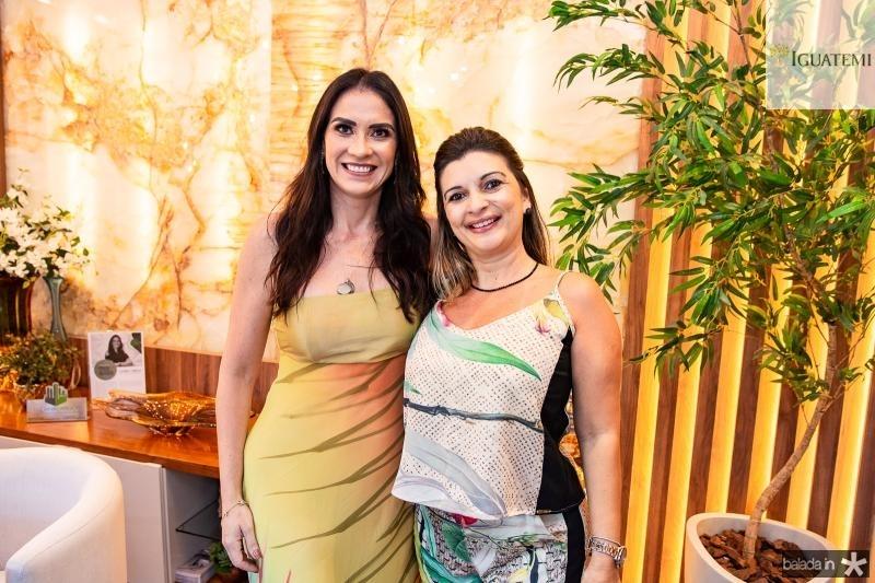 Luciana Carioca e Marcilia Medeiros