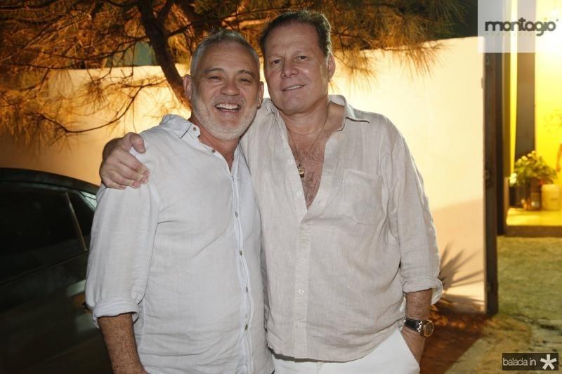 Edson Barbosa e Julinho Ventura